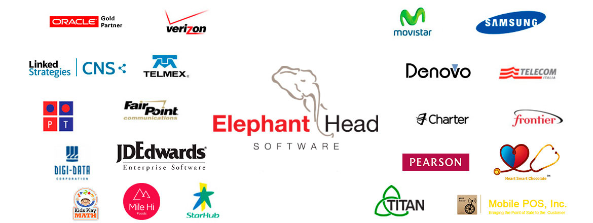 Elephant Head Software's Many Clients